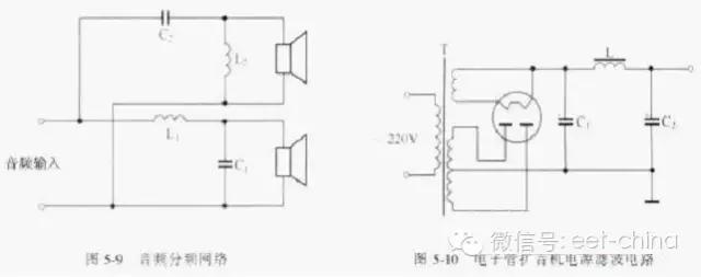 网站主页 测试理论 测试基础理论          左图是音响电路的分频电路